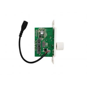 WPK-AMPB-50W Wall Plate Amplifier with Bluetooth v4.2 - Decora Style - 50W Max - White - Infinite Cables