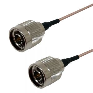 RF316-0000-00.5 RG316 N-Type Male to N-Type Male Cable - Infinite Cables