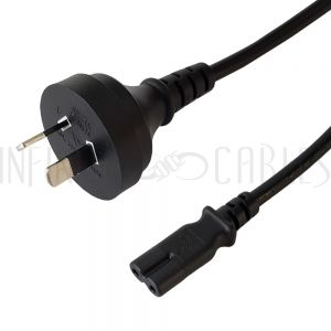 AS3112 (Australia) to C7 Power Cords - Infinite Cables