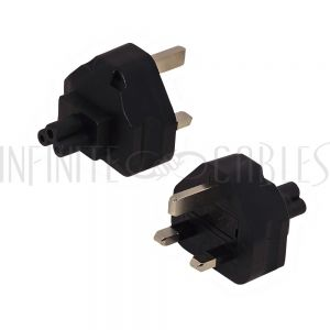 BS1363 (UK) Male to C5 Power Adapter