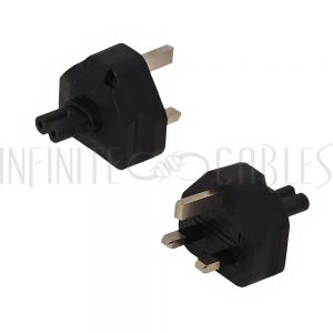 BS1363 (UK) Male to C7 Power Adapter