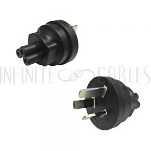 Australia AS3112 Plug to C5 Power Adapter
