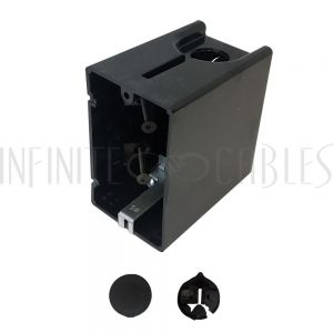 Outlet Box, Single Gang - Power or Low Voltage, New / Existing Construction