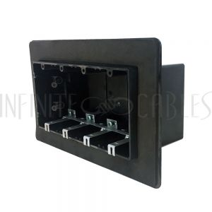 Vapour Barrier Box, Four Gang - Power, New Construction