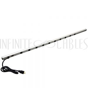 1589T70F1 Hammond 70 inch 10-Outlet Vertical Power Strip - 6ft 5-20P Cord, 5-20R Receptacles - Infinite Cables