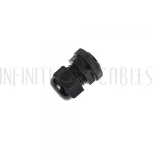 CG-M20-S Cable Gland M20x1.5 Thread - Cable OD 8~12mm - IP68 - Black - Infinite Cables
