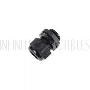 CG-M25-L Cable Gland M25x1.5 Thread - Cable OD 13~18mm - IP68 - Black - Infinite Cables