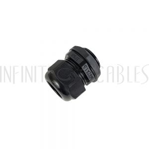 CG-M32-L Cable Gland M32x1.5 Thread - Cable OD 18~25mm - IP68 - Black - Infinite Cables