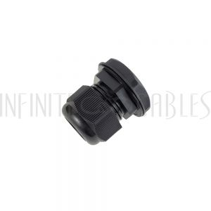 CG-M32-S Cable Gland M32x1.5 Thread - Cable OD 15~21mm - IP68 - Black - Infinite Cables
