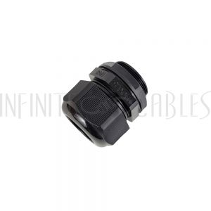 CG-M40-L Cable Gland M40x1.5 Thread - Cable OD 22~32mm - IP68 - Black - Infinite Cables