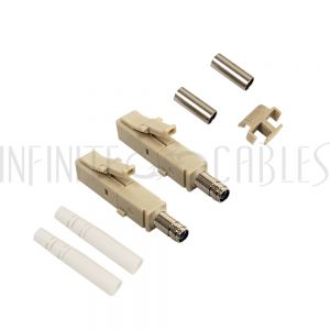 FO-CN108-3MM LC MM Duplex Connector for 3mm Jacket - Infinite Cables