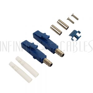 FO-CN208-3MM LC SM Duplex Connector for 3mm Jacket - Infinite Cables