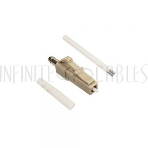 FO-CN508-2MM LC MM Simplex Connector for 2mm Jacket - Infinite Cables