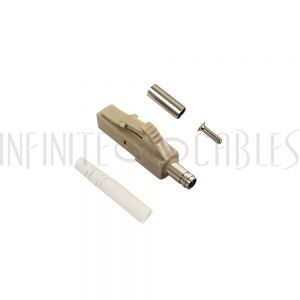 FO-CN508-3MM LC MM Simplex Connector for 3mm Jacket - Infinite Cables