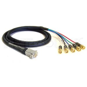 Premium VGA to 5x BNC Male Cables