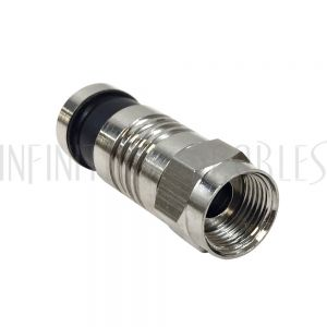 F-Type Male Compression Connector for RG59 - Pack of 10