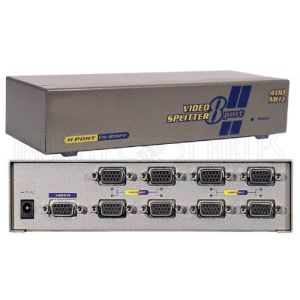 8-Port VGA Video Splitter - 2048x1536
