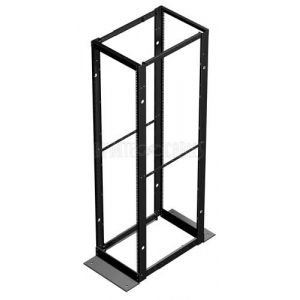 Hammond 4-Post Relay Rack - 19 inch 44U, Square Hole, Depth 24-36 inch